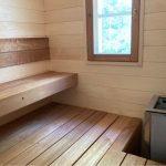 kylpyhuone saunaremontti hinta